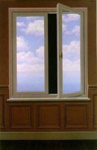 Rene Magritte - The looking glass