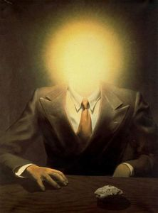 Rene Magritte - The Pleasure Principle (Portrait of Edward James)