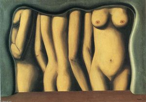 Rene Magritte - Adulation of space