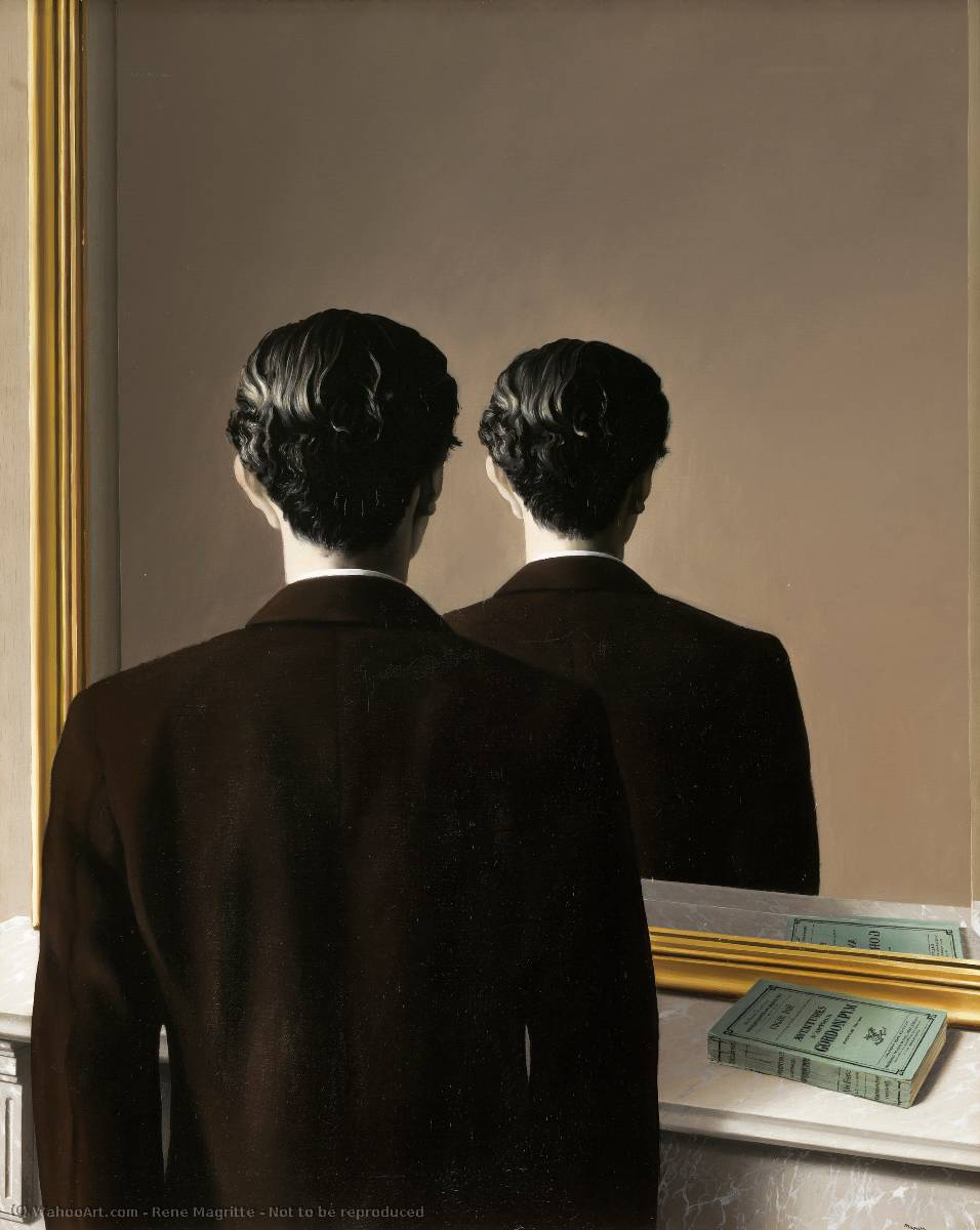 Not to be reproduced, 1937 by Rene Magritte (1898-1967, Belgium) |  | WahooArt.com