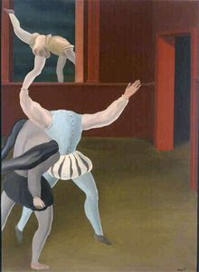 Rene Magritte - A panic in the Middle Ages