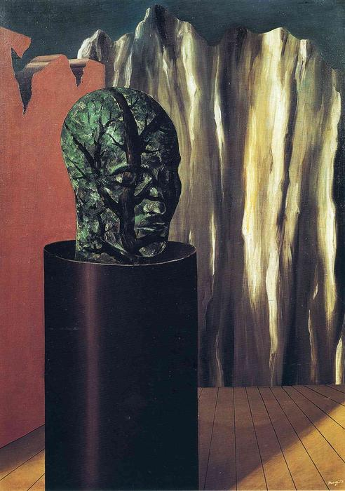 The forest, 1927 by Rene Magritte (1898-1967, Belgium) |  | WahooArt.com