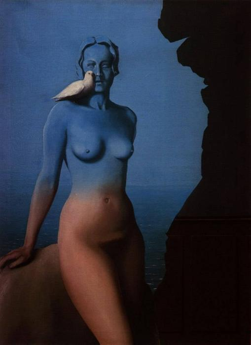 Black Magic, 1934 by Rene Magritte (1898-1967, Belgium) |  | WahooArt.com