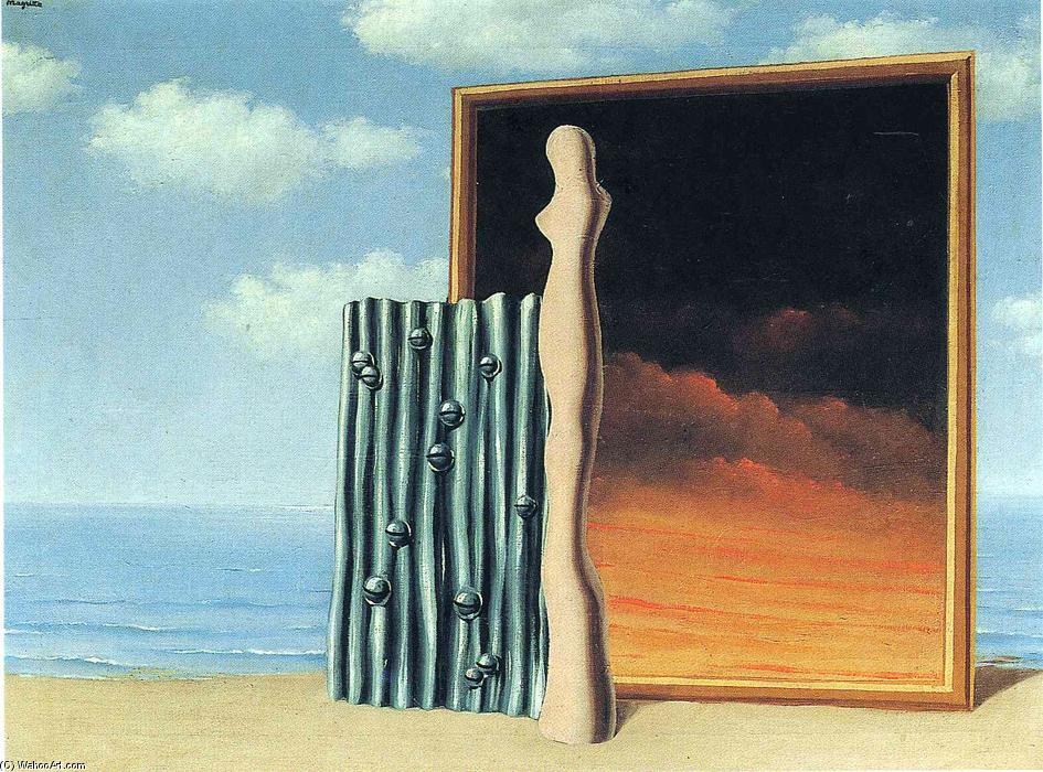 Composition on a seashore, 1935 by Rene Magritte (1898-1967, Belgium) |  | WahooArt.com