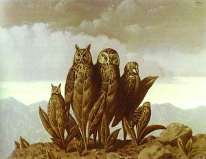 Rene Magritte - Companions of Fear