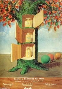 Rene Magritte - Poster - Exciting perfumes by Mem