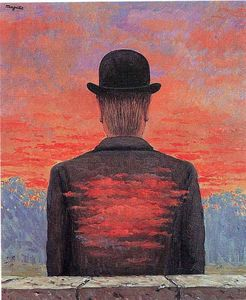 Rene Magritte - The poet recompensed