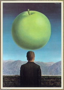 Rene Magritte - The Postcard