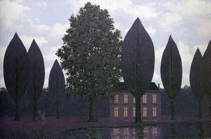 Rene Magritte - The mysterious barricades