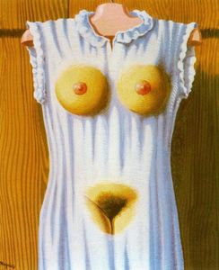 Rene Magritte - The philosophy in the bedroom