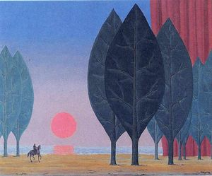 Rene Magritte - Forest of Paimpont