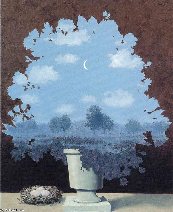 The land of miracles, 1964 by Rene Magritte (1898-1967, Belgium)