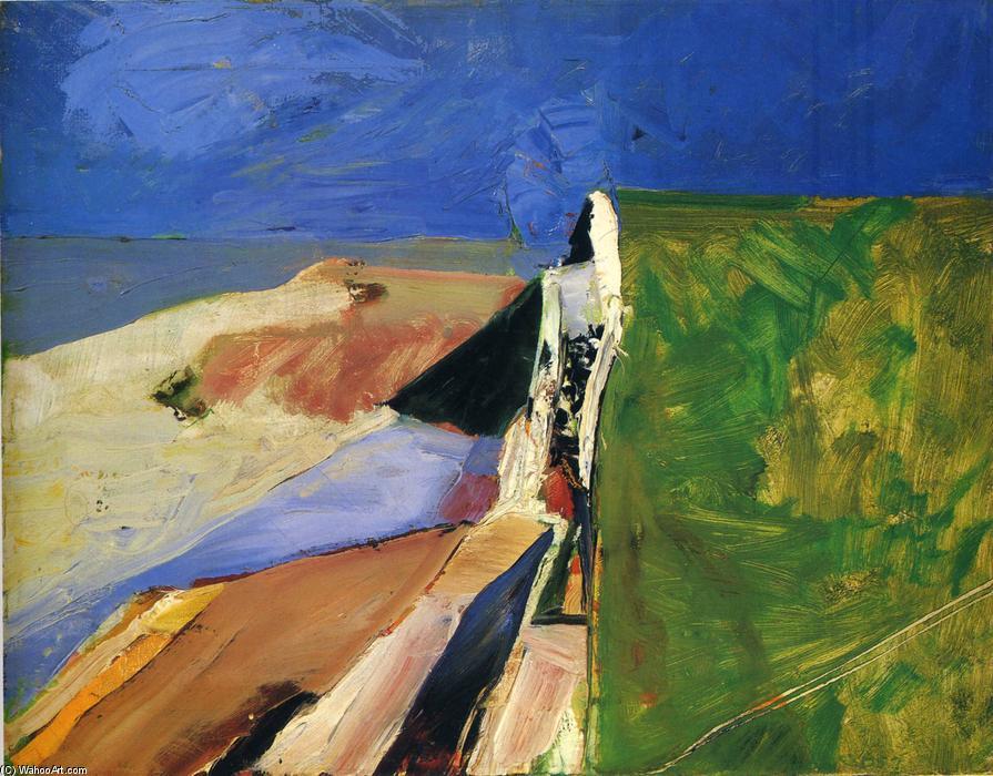 Seawall By Richard Diebenkorn 1922 1993 United States Art