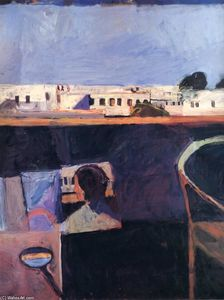Richard Diebenkorn - Interior with View of Buildings