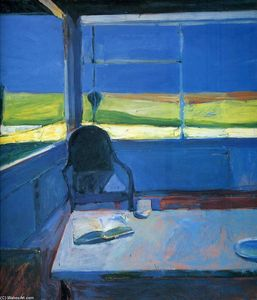Richard Diebenkorn - Interior with Book