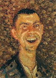 Richard Gerstl - Self-Portrait Laughing