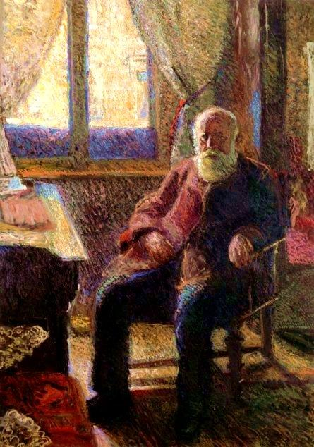 Buy Museum Art Reproductions | Emile Gerstl (father), 1906 by Richard Gerstl (1883-1908, Austria) | WahooArt.com