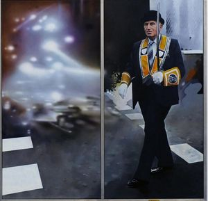 Richard Hamilton - The Orangeman