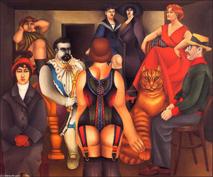 Richard Lindner - The Meeting