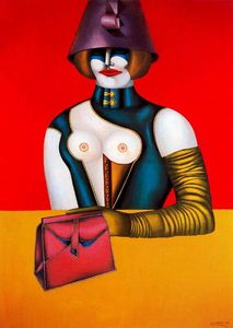 Richard Lindner - West 48th Street