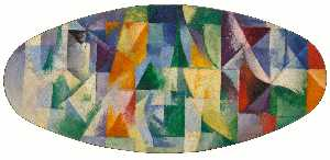 Robert Delaunay - Windows Open Simultaneously 1st Part, 3rd Motif