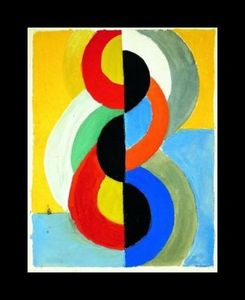 Robert Delaunay - Rhythm Color