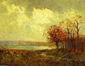Robert Julian Onderdonk - Fall Landscape