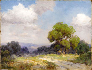 Robert Julian Onderdonk - Morning in the Hills Southwest Texas