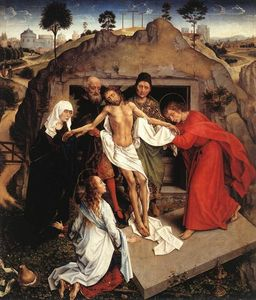 Rogier Van Der Weyden - Entombment of Christ