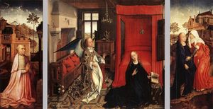 Rogier Van Der Weyden - The Annunciation