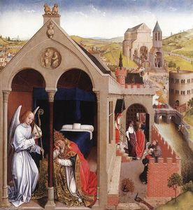 Rogier Van Der Weyden - Dream of Pope Sergius