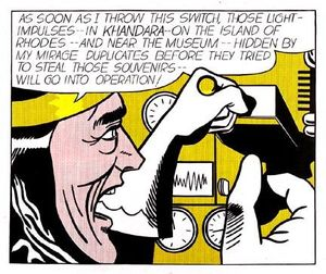 Roy Lichtenstein - Mad scientist