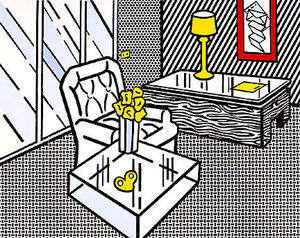 Roy Lichtenstein - The den