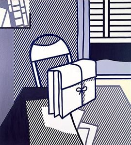 Roy Lichtenstein - Still life with dossier