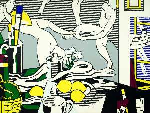 Roy Lichtenstein - Artist-s studio - The dance