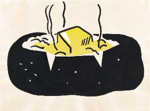 Roy Lichtenstein - Baked potato