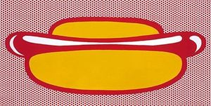 Roy Lichtenstein - Hot dog