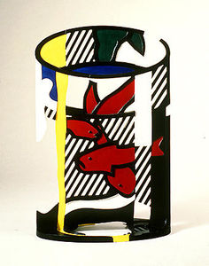 Roy Lichtenstein - Goldfish bowl II