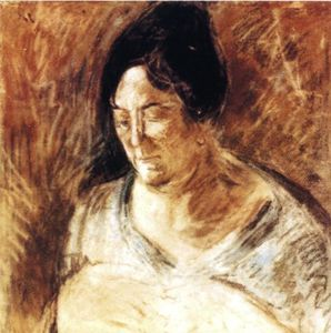 Salvador Dali - Portrait of the Artist-s Mother