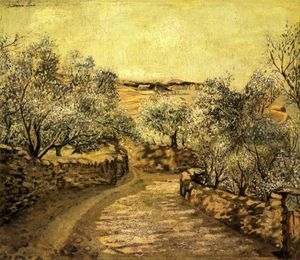 Salvador Dali - The Lane to Port Lligat with View of Cap Creus