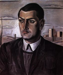 Salvador Dali - Portrait of Luis Bunuel