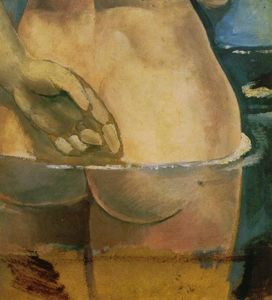 Salvador Dali - Nude in the Water