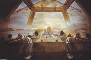 Salvador Dali - The Sacrament of the Last Supper