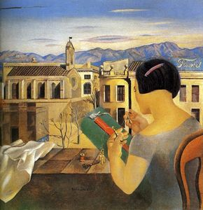 Salvador Dali - Woman at the Window in Figueras