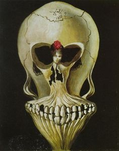 Salvador Dali - Ballerina in a Death-s Head