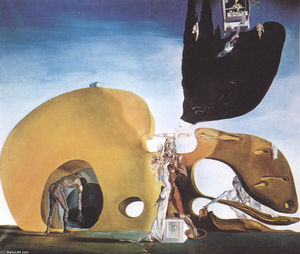 Salvador Dali - The Birth of Liquid Desires