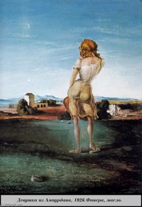 Salvador Dali - Girl from the Ampurdan