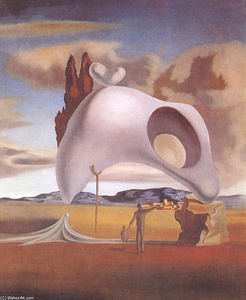 Salvador Dali - Atavistic Vestiges After the Rain