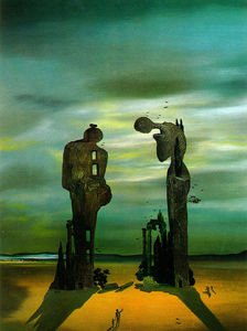 Salvador Dali - Archeological Reminiscence Millet-s Angelus