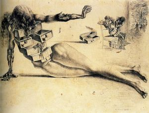 Salvador Dali - City of drawers